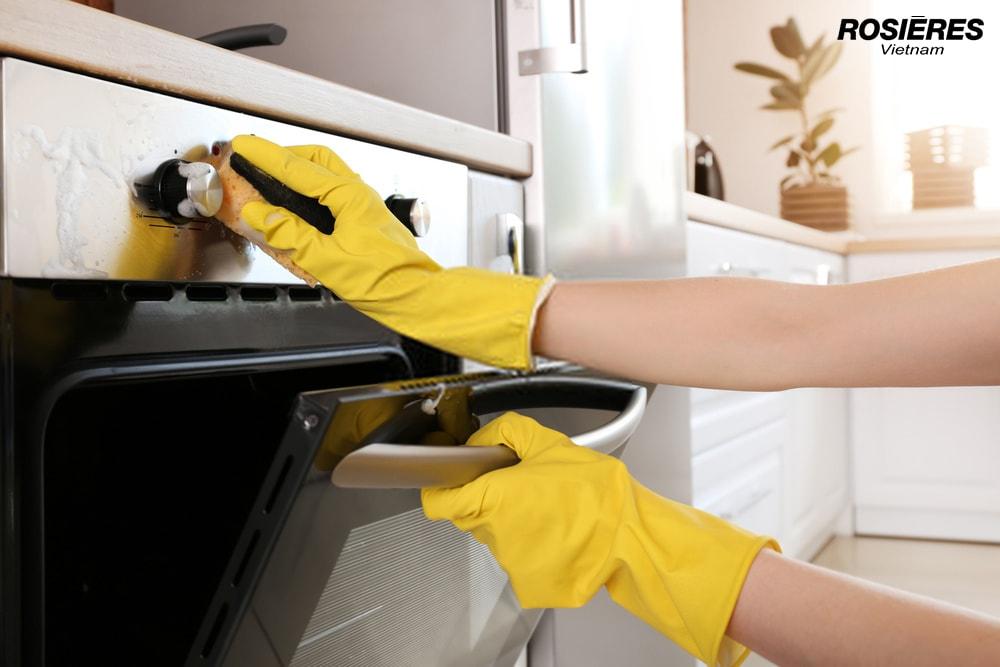 Cách vệ sinh lò nướng đơn giản và hiệu quả