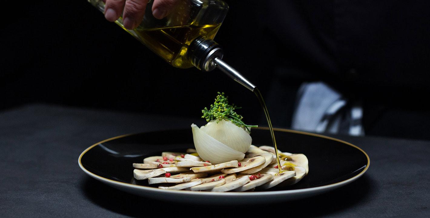 Công thức món nấm Champignons de Paris Carpaccio mi cuit