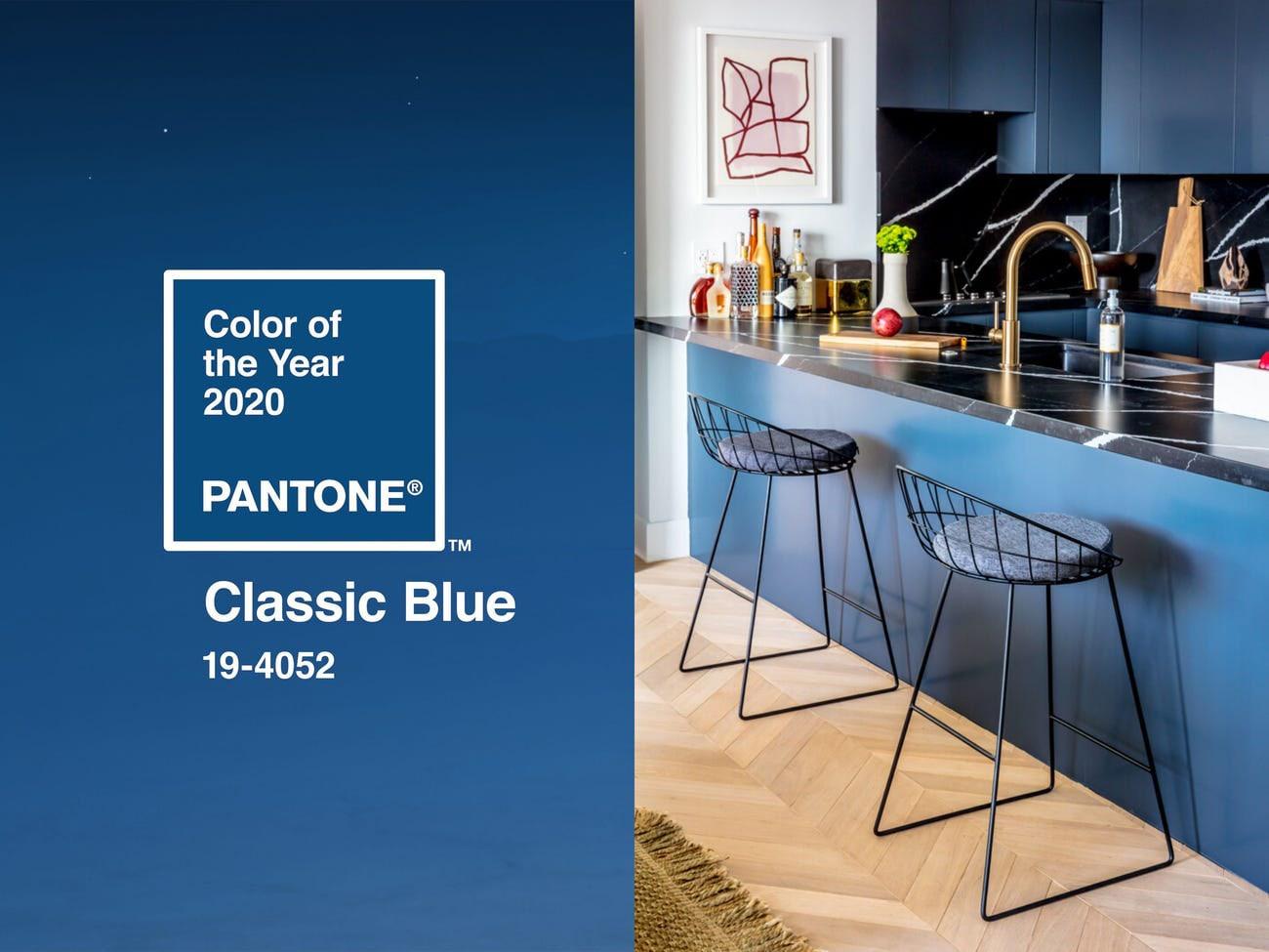 Gợi ý cách kết hợp màu xanh cổ điển trong thiết kế phòng bếp - Đón đầu xu hướng mới 2020