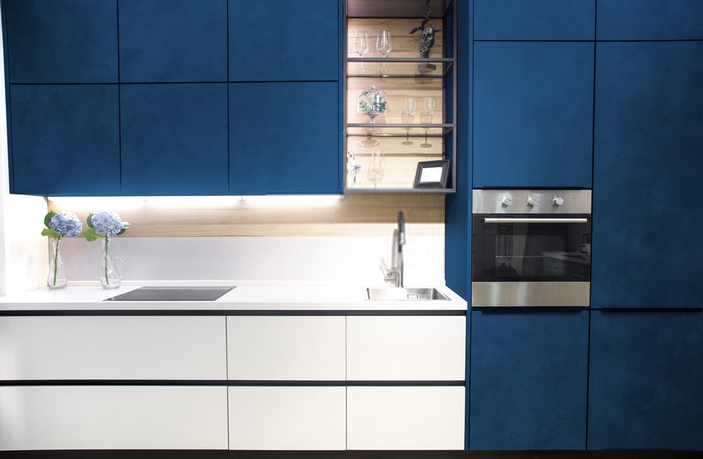 Lam cổ điển - gam màu của năm 2020 và ứng dụng trong thiết kế nhà bếp hiện đại